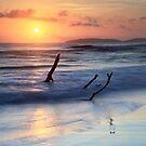 Sunrise at Rainbow Beach  by Ann  Van Breemen