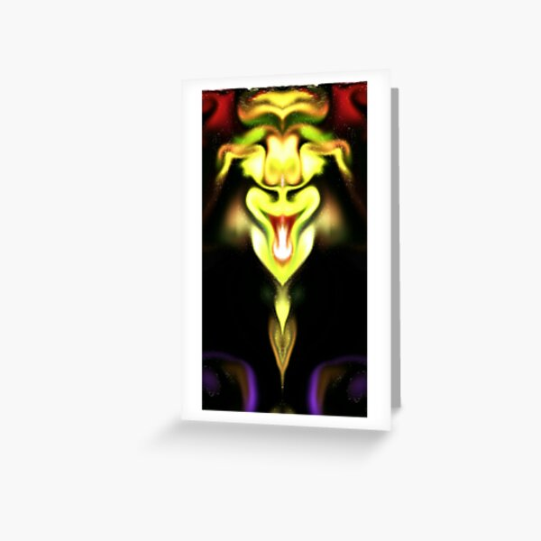 happy chinese dragon Greeting Card
