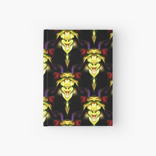 happy chinese dragon Hardcover Journal
