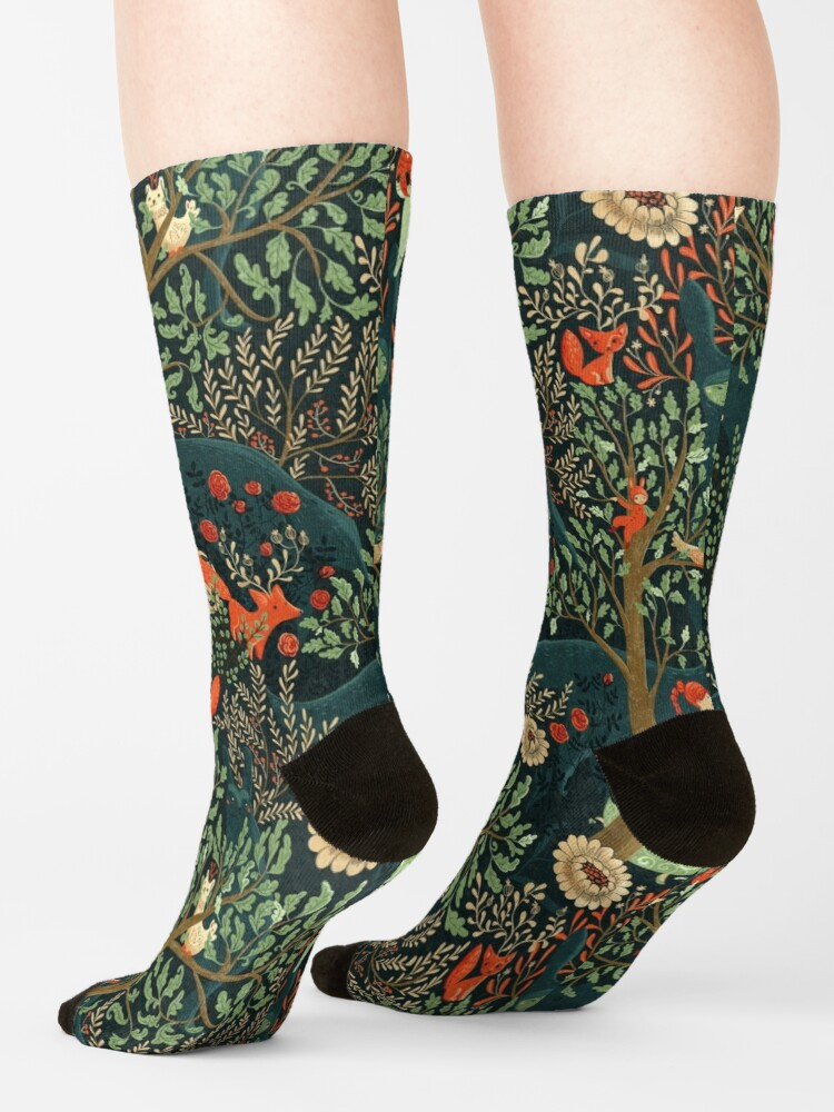 Alternate view of Whimsical Wonderland Socks