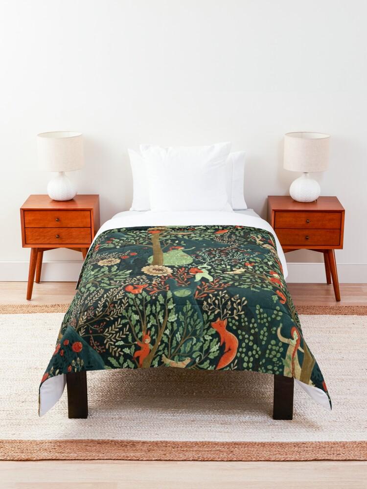 Alternate view of Whimsical Wonderland Comforter