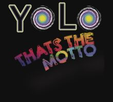 YOLO THATS THE MOTTO