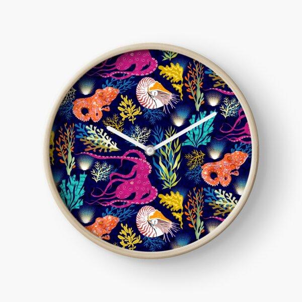 Cephalopods Clock