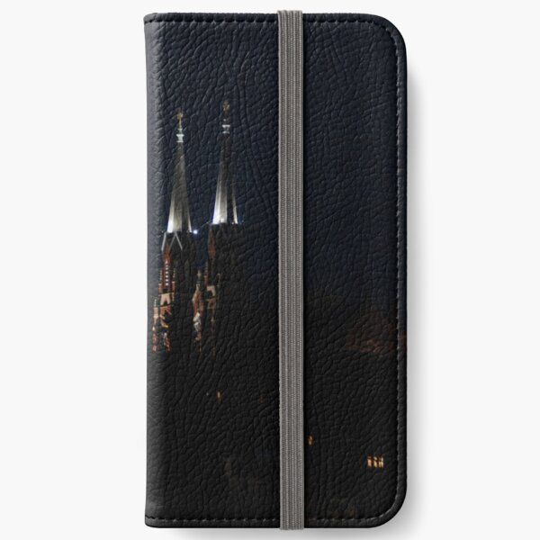 Twin Spires at Night iPhone Wallet