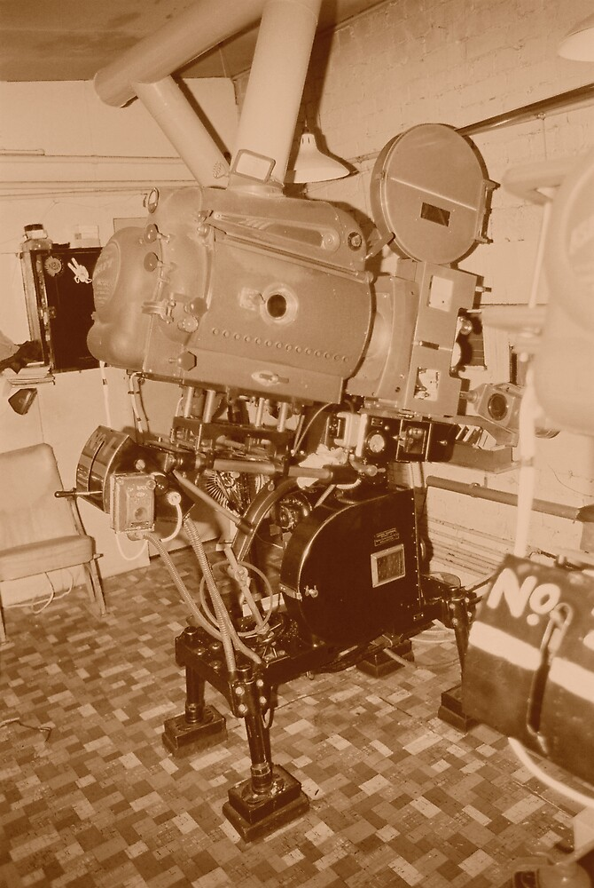 projector 35mm by kiwiposters