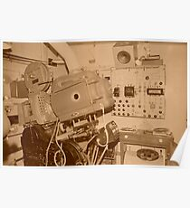 old carbon arc 35mm projector Poster