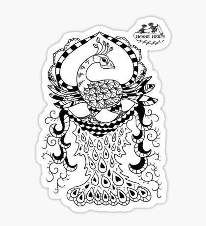 Peacock#2 Sticker