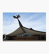 Is it a Bird, Is it a Stadium, Is it a Hockey Rink? Photographic Print