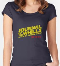 JOURNAL OF THE WHILLS 1973 Women's Fitted Scoop T-Shirt