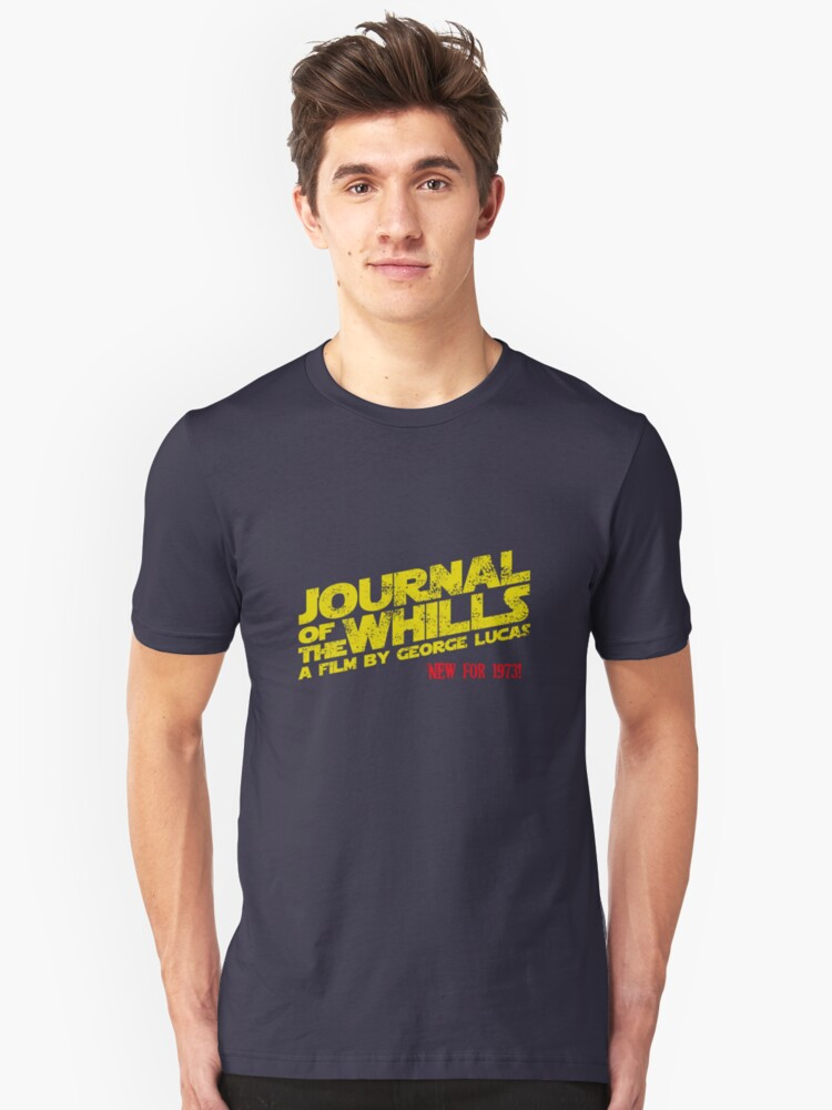 JOURNAL OF THE WHILLS 1973 Unisex T-Shirt Front