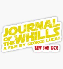 JOURNAL OF THE WHILLS 1973 Sticker