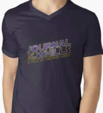 JOURNAL of the WHILLS (stars) Mens V-Neck T-Shirt