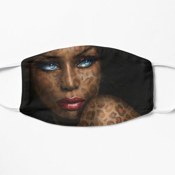 Blue Eyes Leopard Small Mask