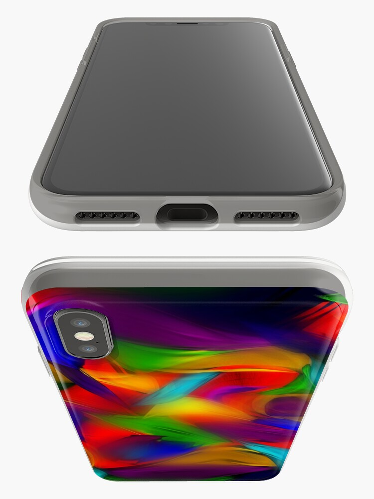 Alternate view of Rainbow Dapple iPhone Case & Cover