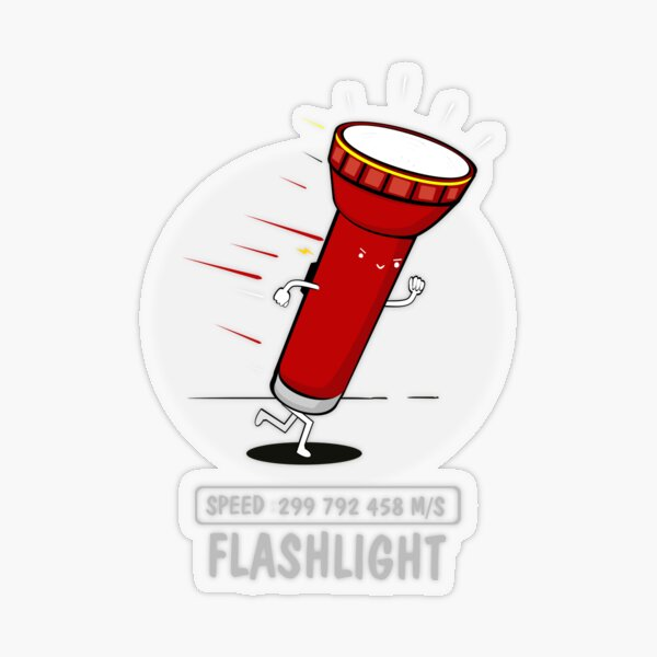 Flashlight Transparent Sticker