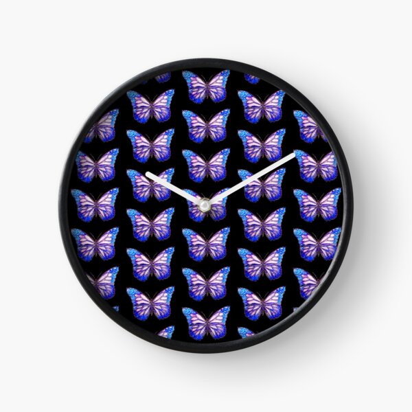 Crystal Butterfly Clock
