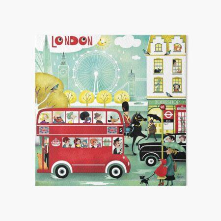 Happy London Art Board Print