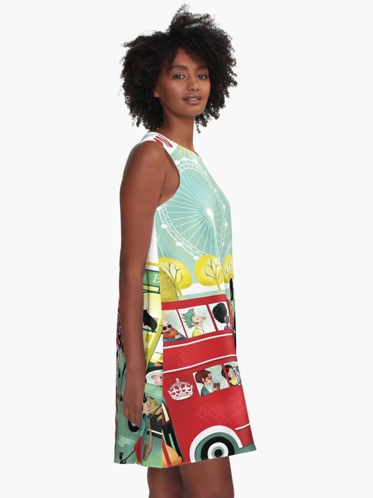 Alternate view of Happy London A-Line Dress