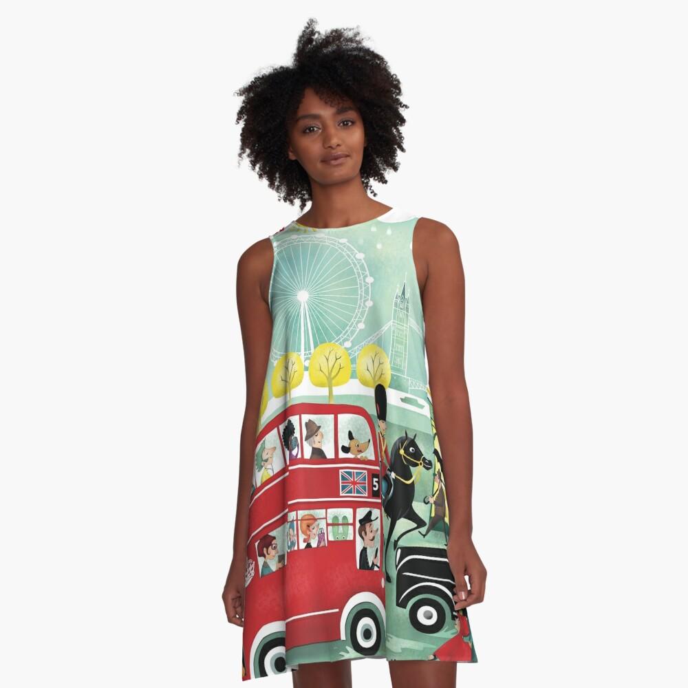 Happy London A-Line Dress