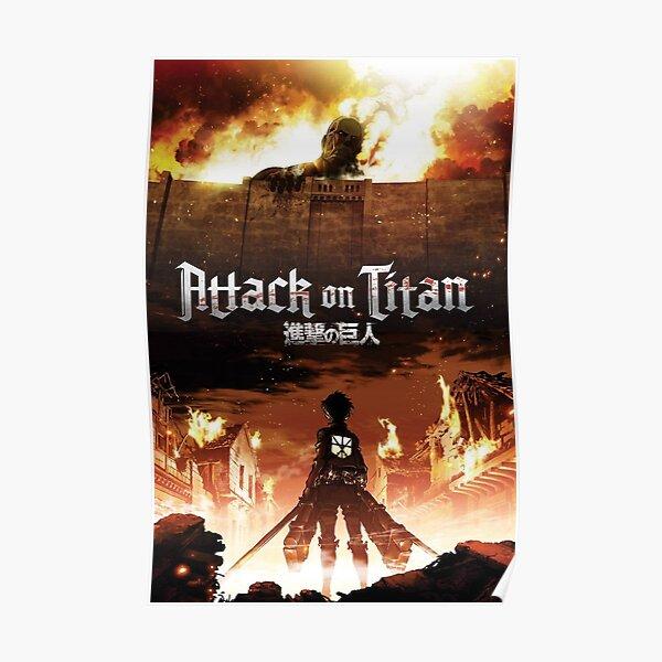 Attack on Titan - Last Fight Poster