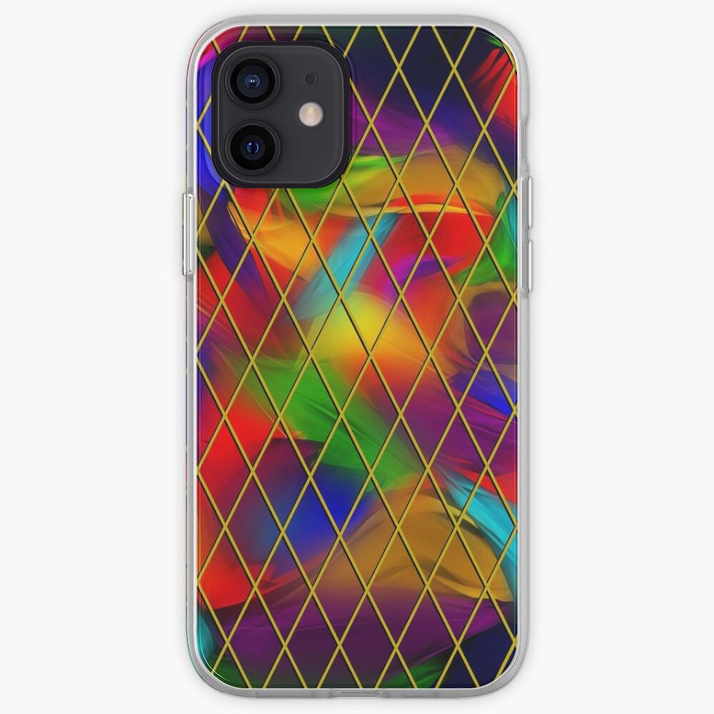 Golden Diamonds, Rainbow Void iPhone Case & Cover