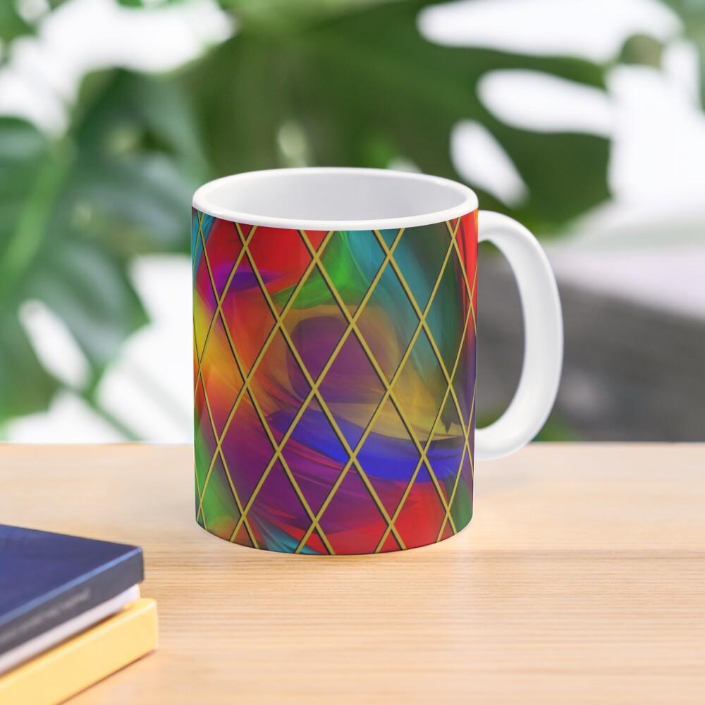 Golden Diamonds, Rainbow Void Mug