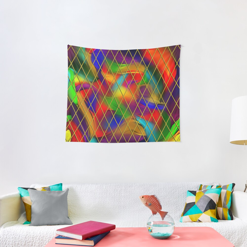 Golden Diamonds, Rainbow Void Tapestry