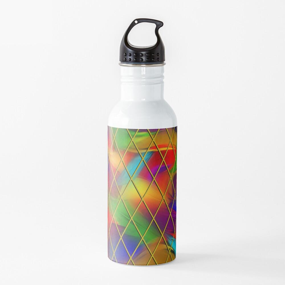 Golden Diamonds, Rainbow Void Water Bottle