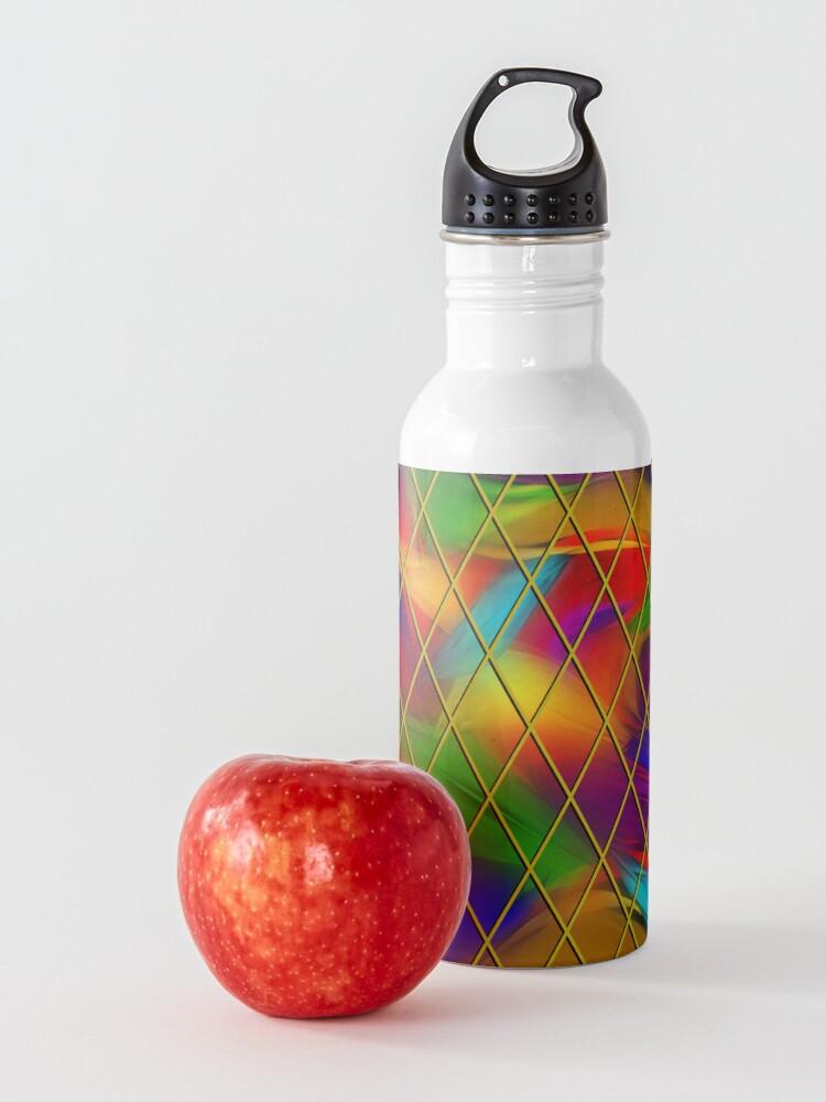Alternate view of Golden Diamonds, Rainbow Void Water Bottle