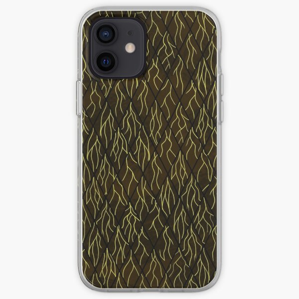 Earthen Scales, Golden Streams iPhone Soft Case
