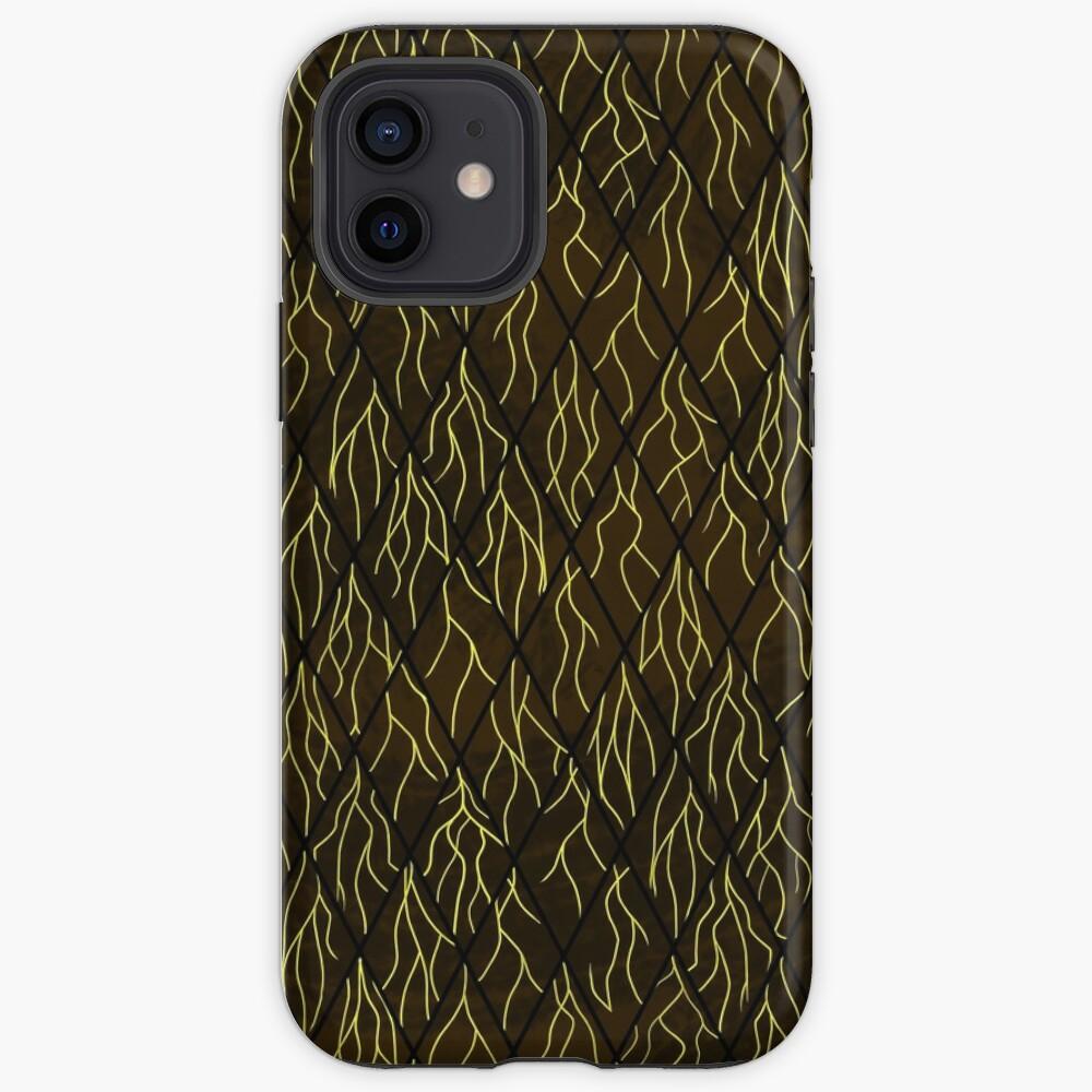 Earthen Scales, Golden Streams iPhone Case & Cover