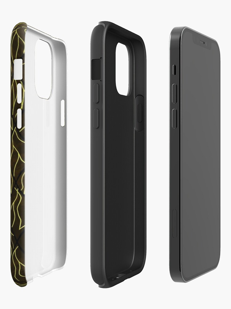 Alternate view of Earthen Scales, Golden Streams iPhone Case & Cover