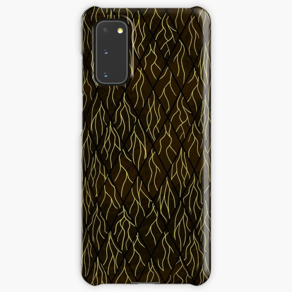 Earthen Scales, Golden Streams Case & Skin for Samsung Galaxy