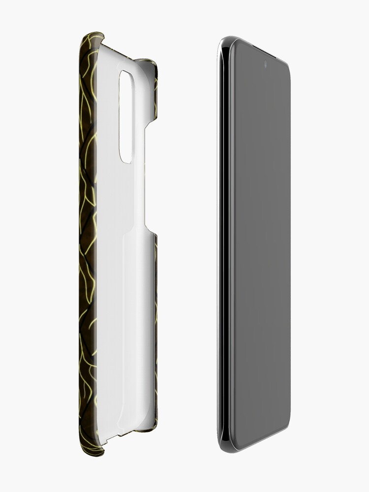 Alternate view of Earthen Scales, Golden Streams Case & Skin for Samsung Galaxy