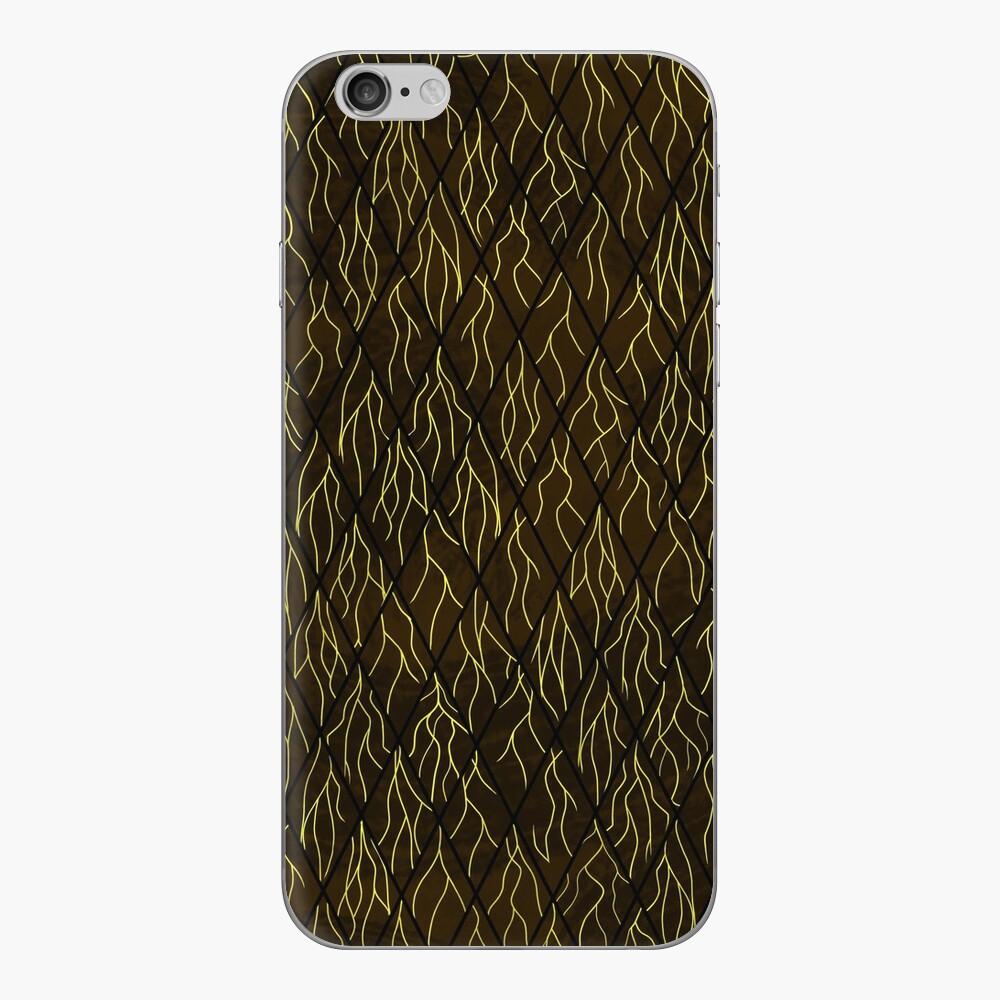 Earthen Scales, Golden Streams iPhone Skin
