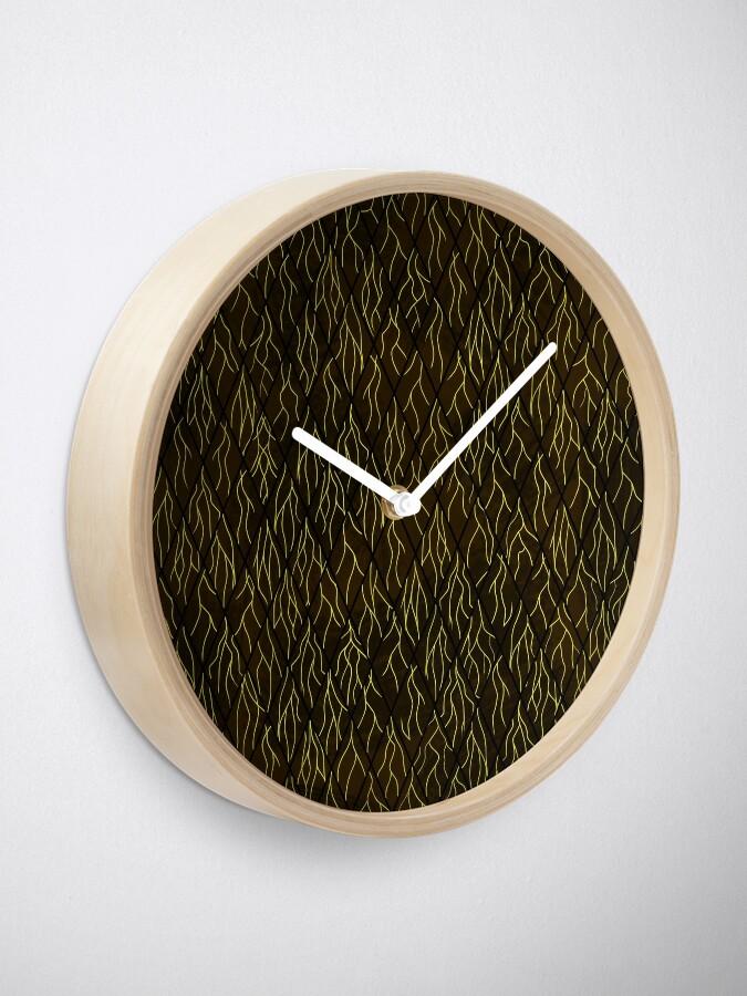 Alternate view of Earthen Scales, Golden Streams Clock
