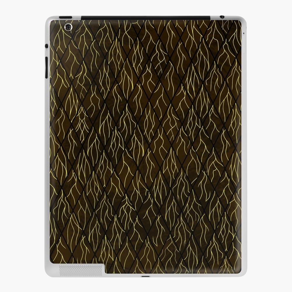 Earthen Scales, Golden Streams iPad Case & Skin
