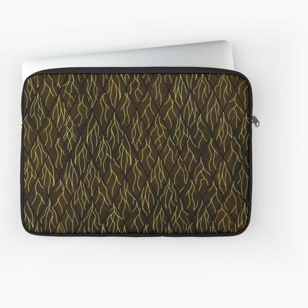 Earthen Scales, Golden Streams Laptop Sleeve