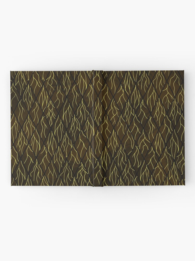 Alternate view of Earthen Scales, Golden Streams Hardcover Journal