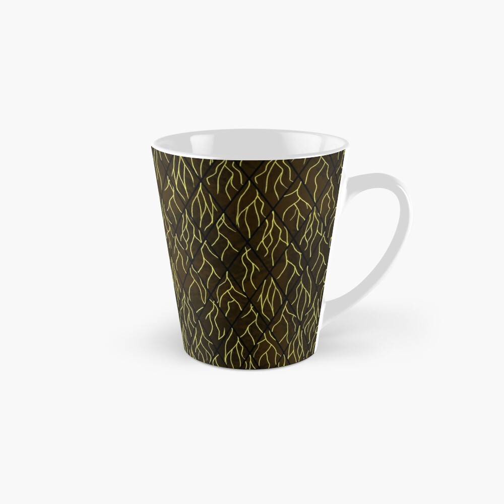 Earthen Scales, Golden Streams Mug