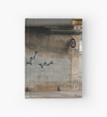 Graffiti Dolphins Hardcover Journal