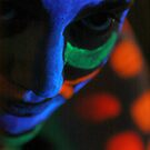 Nika under UV face by Erovisions Studio