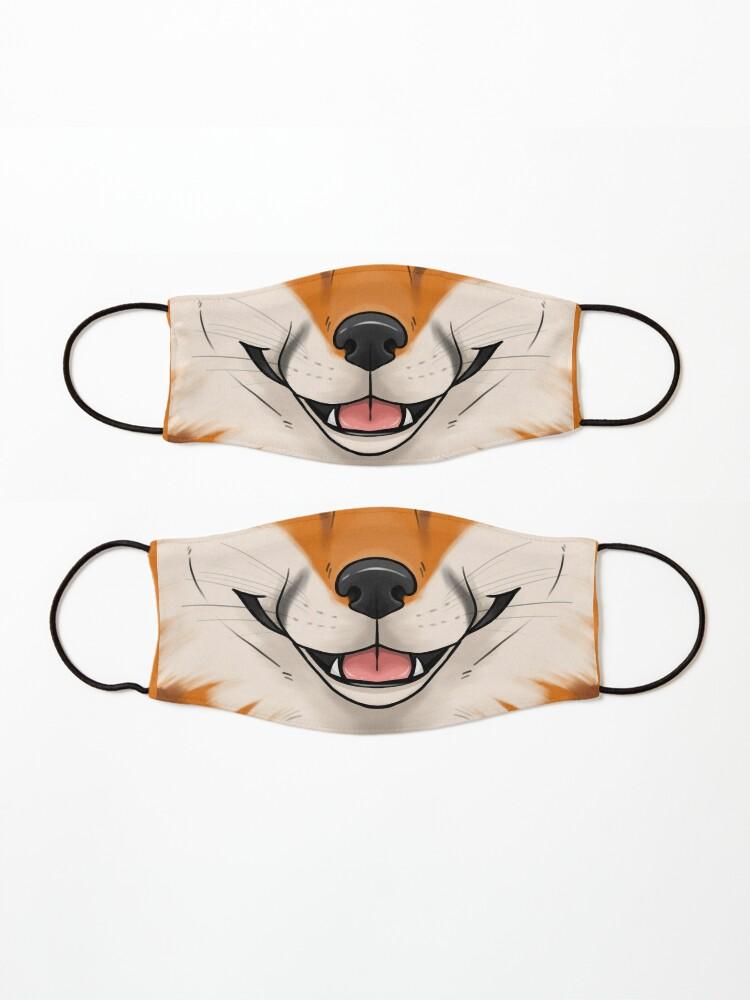 Alternate view of Fox Mask