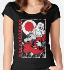 Sit Down & Shut Up  Women's Fitted Scoop T-Shirt