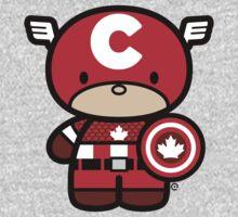 Chibi-Fi Captain Canada One Piece - Long Sleeve