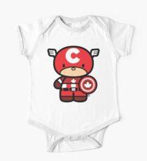 Chibi-Fi Captain Canada One Piece - Short Sleeve