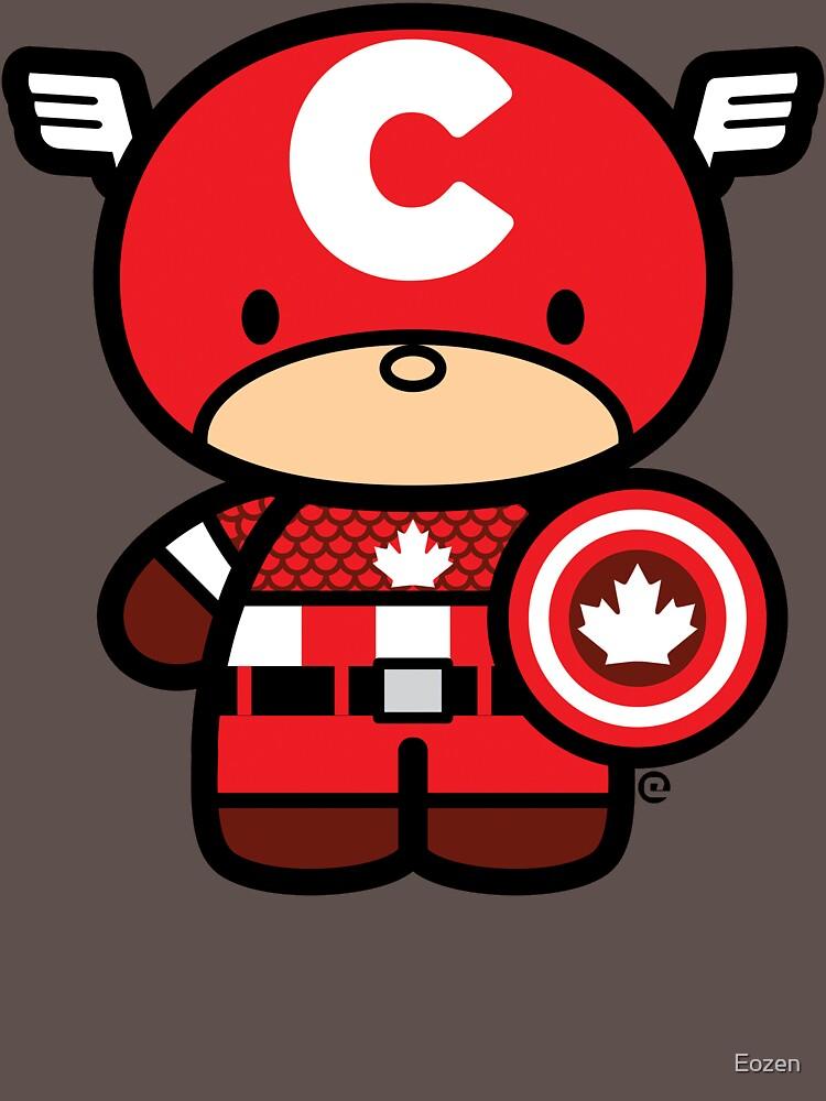 Chibi-Fi Captain Canada | Unisex T-Shirt