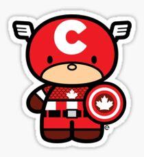 Chibi-Fi Captain Canada Sticker