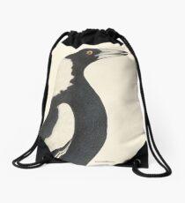 Magpie Drawstring Bag