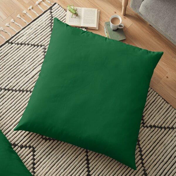 Green green Floor Pillow